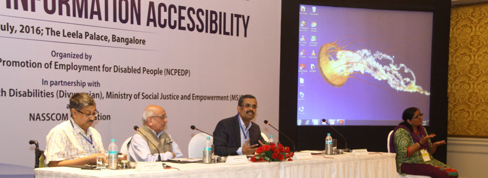 Roundtable on Information Accessibility held on 1st July, 2016 in Bengaluru.