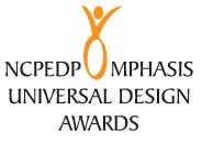 Logo of NCPEDP-Mphasis Universal Design Awards