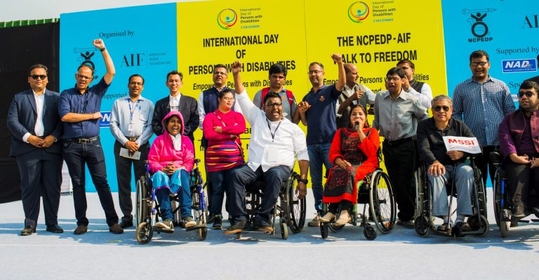 Members of NCPEDP on international day of disability